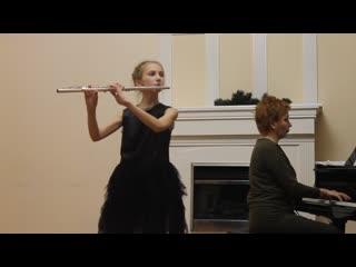 Козенкова Алиса - «Венгерский танец №1» (В. Попп)