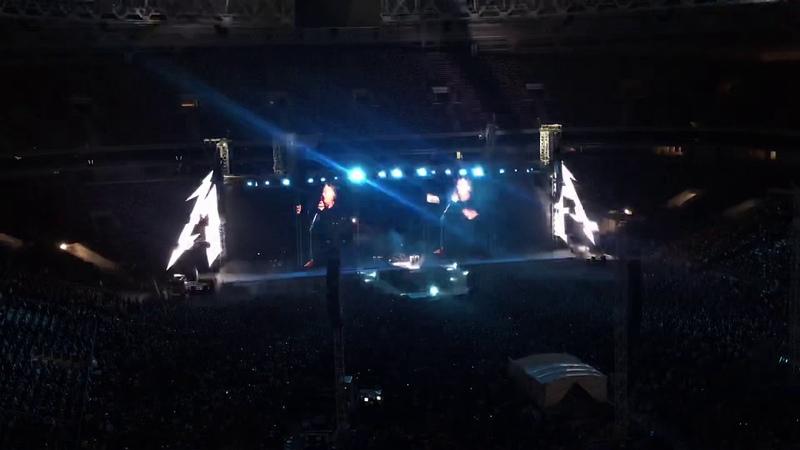 Metallica at Moscow 21 Jul 2019 Кино Группа крови