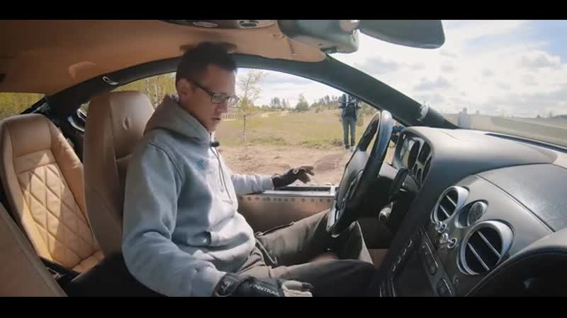 AcademeG. Bentley Ultratank. Первый выезд - Авто - Mover.uz