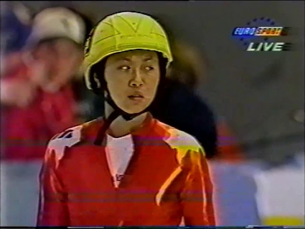 WK Short Track Speedskating 1995 Gjovik Norway 1