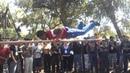 Poncho en barras paralelas torneo velodromo 2013