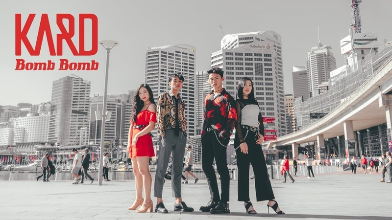 [KPOP IN PUBLIC CHALLENGE] KARD Bomb Bomb Dance Cover HORIZON Australia
