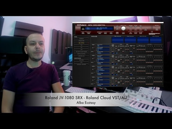 Roland Cloud SRX Orchestra expansion VSTAU demo