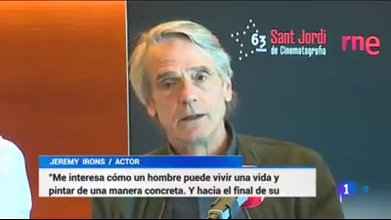 Jeremy Irons at the BCN Film Festival