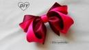 Бант 3D из атласной ленты МК DIY 3D satin bow PA PLaço de fita de cetim 3D 229