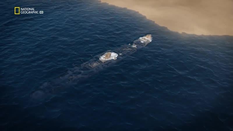 NG Осушить океан глубокое погружение - Затонувшие военные корабли | 3 серия из 8 | 2018 | HD 720