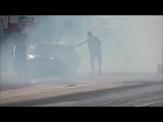 Street outlaws 405 murder nova vs junkyard dog blown camaro at bounty hunters no
