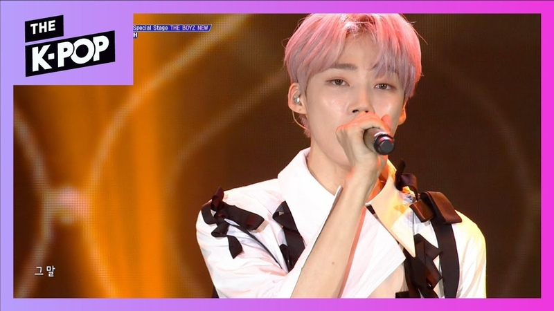 [200th Stage] NEW (THE BOYZ), Don't forget me (Original song:Baek Ji Young) [THE SHOW 190820]