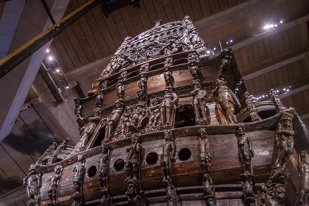 Единственный в мире сохранившийся парусный корабль начала XVII века