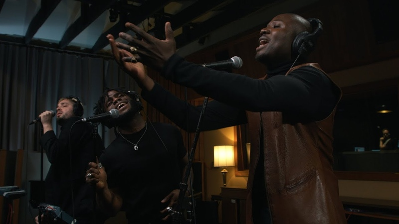 Young Fathers Wow Live on KEXP