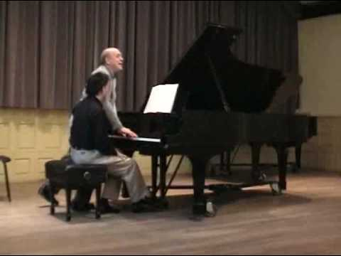Brahms Intermezzo Master class with Victor Rosenbaum Part 2