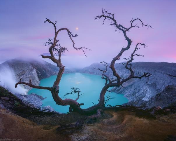 Токсичный Иджен (Индонезия) Фото: Даниил Коржонов