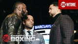 Wilder &amp Breazeale Heated Q&ampA and Faceoff May 18 on SHOWTIME