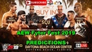 AEW Fyter Fest 2019 Best Friends vs SoCal Uncensored vs Private Party Predictions WWE 2K19