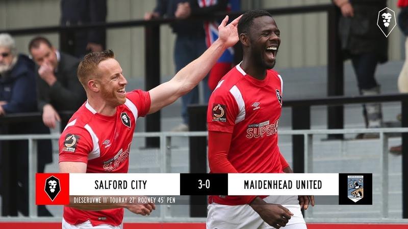 Salford City 3 0 Maidenhead United 04 19
