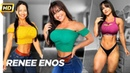 RENEE ENOS - Workout and Bodypaint. @roxyqueflexx - Amazing Natural Bodybuilder