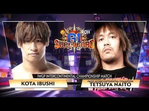 Tetsuya Naito vs Kota Ibushi G1 Supercard Full match Highlights