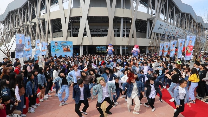 Random Play Dance in Korea Daegu with Dress code BLUE