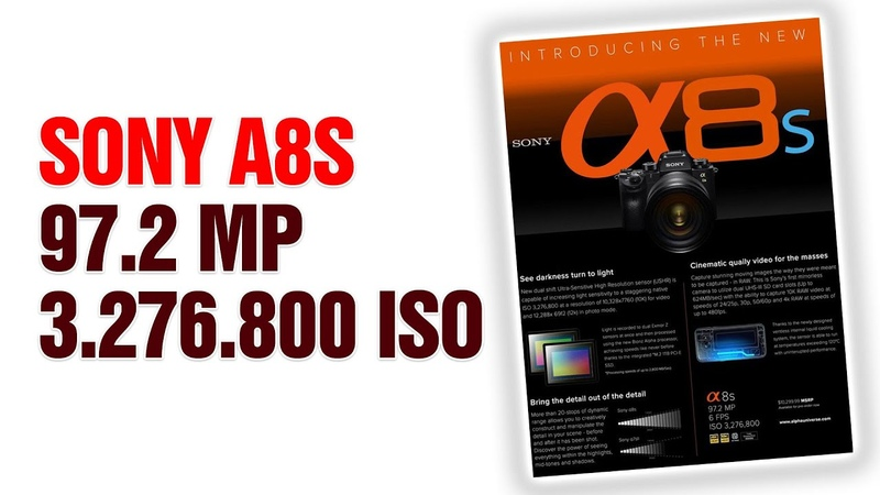 Sony A8s 3 Milyon 276 bin iso I Sony A8s Is Around The Corner | 97 Megapixels
