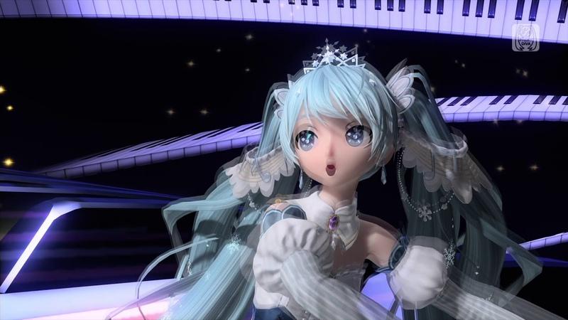 PS4FT マージナル 初音ミク:雪ミク2019マントなし PV