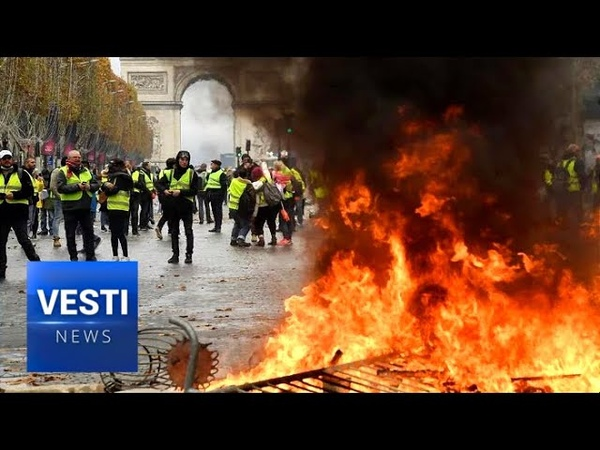 France: Yellow Vest Chaos Continues! Macron Panics and Hires New, More Brutal Police Chief! - YouTube