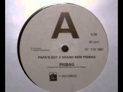 Pigbag - Papa's Got A Brand New Pigbag (12 45 rpm vinyl)