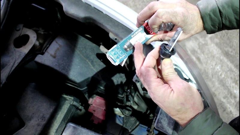 Ниссан Мурано Z51 2010 года Nissan Murano Замена лампы D2R в фаре