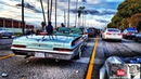 Lowriders hopping competition on Sunday Funday