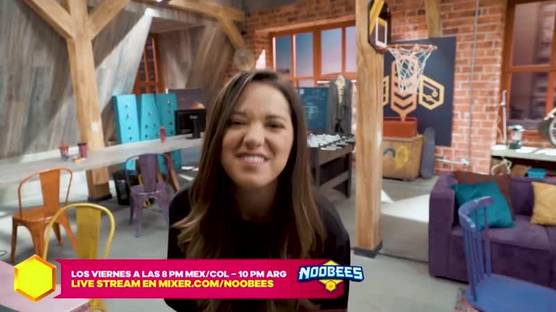 Noobees - Michelle Olvera es Silvia -