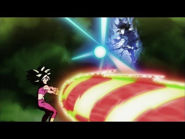 Goku finish Kefla off with his Ultra Instinct Kamehameha Reupload