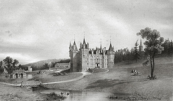 ЗАМОК БРИССАК И ДАМА В ЗЕЛЁНОМ Замок Бриссак находится во французском департаменте Мен-и-Луара и имеет долгую и интересную историю. Это самый высокий французский замок его высота составляет 52