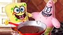 Мультики для детей Губка Боб! Спанч Боб Квадратные Штаны и Патрик Стар готовят сэндвичи