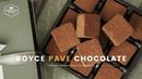 발렌타인데이♥ 파베 초콜릿 만들기 Royce Pave Chocolate Recipe 生チョコ トリュフチョコレ