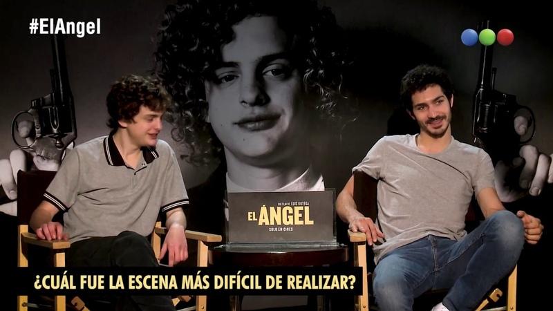 Telefe Cine - Los protagonistas de El Ángel: Chino Darin y Toto Ferro en un mano a mano imperdible