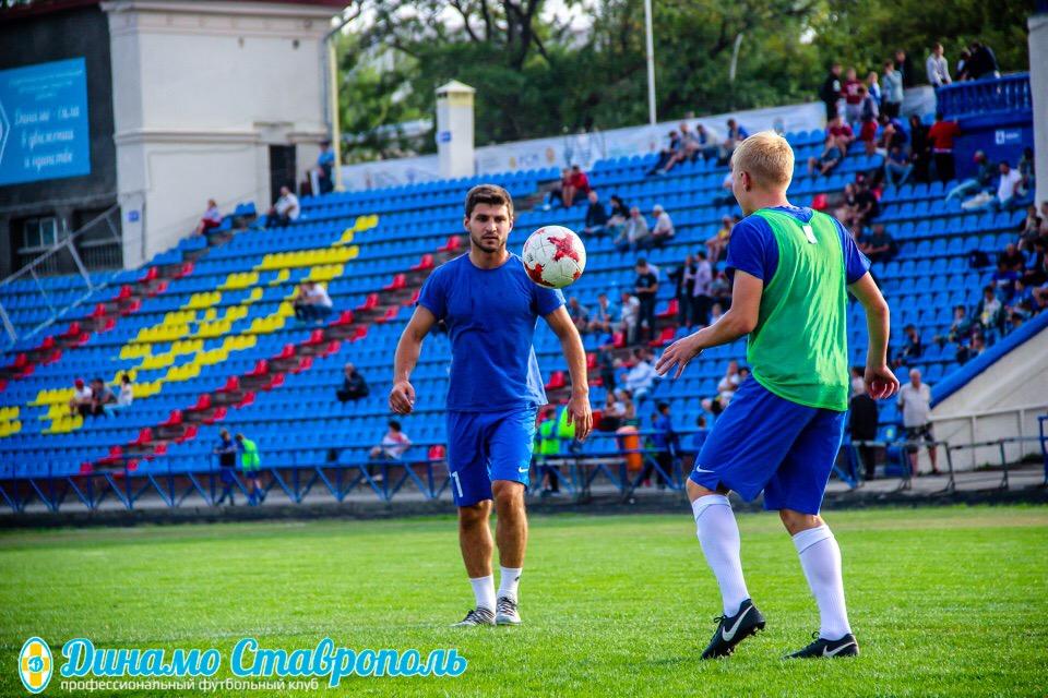 Динамовцы вышли из отпуска!!!