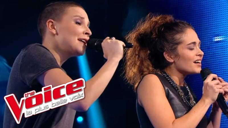 Calogero Prendre racine Anne Sila VS Pompom Pidou The Voice France 2015 Battle