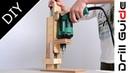 Making a Drill Press(Drill Guide) Machine:高精度ドリルプレス(ドリルガイド)の作り方