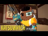 [NEW HERO] Baptiste as a CAT - CATISTE - Overwatch Cats