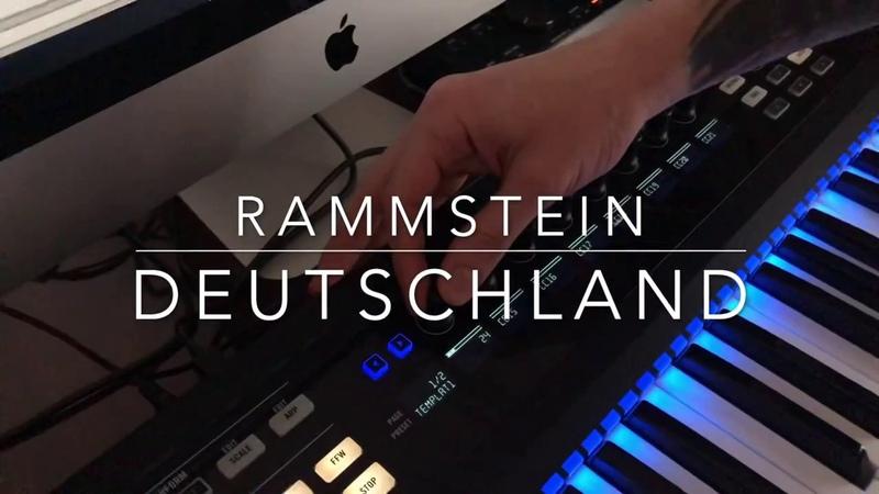 Rammstein - Deutschland only keyboard Track on Ableton Live