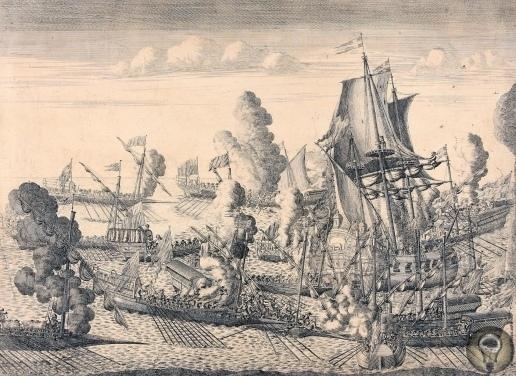 Гангутское сражение: первая победа русского флота Битва при Гангуте была выиграна благодаря грамотному сочетанию маневренных действий и абордажного боя. Галерный флот: поход 1714 года После
