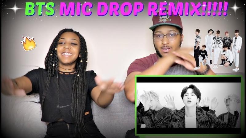 IT'S LIT | BTS MIC Drop (Steve Aoki Remix) Official Music Video REACTION