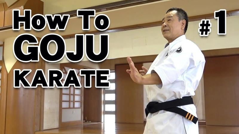 How to GOJU-RYU KARATE 1   Karate Lessons   Master Masaaki Ikemiyagi 9th dan   沖縄伝統空手