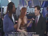 Paul Rudd hopes Ant-Man is in Avengers Endgame [RUS SUB]