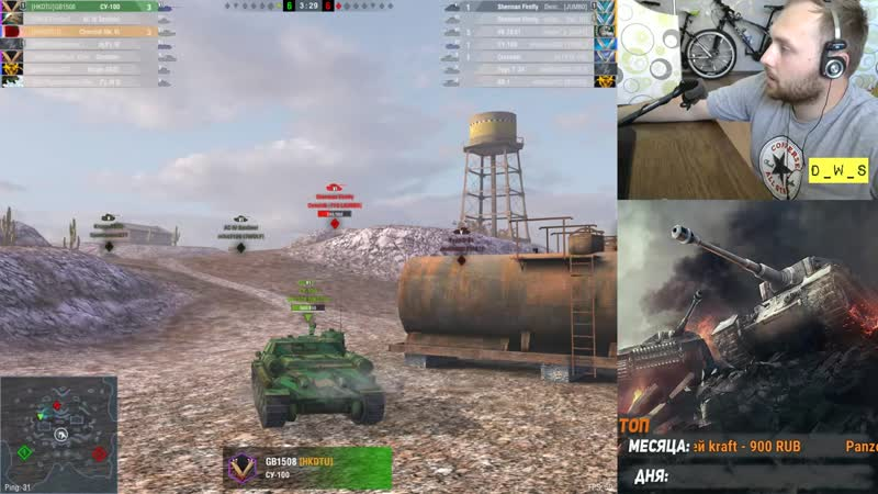 [D_W_S Channel] LetsPlay: Churchill Mk. VI. - старый нагибатор | D_W_S | Wot Blitz