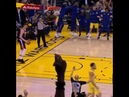 KLAY THOMPSON WITH A CRAZY REVERSE DUNK!!!