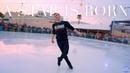 "Adam Rippon skates to Lady Gaga's ""Shallow"" in Santa Monica (4K)"