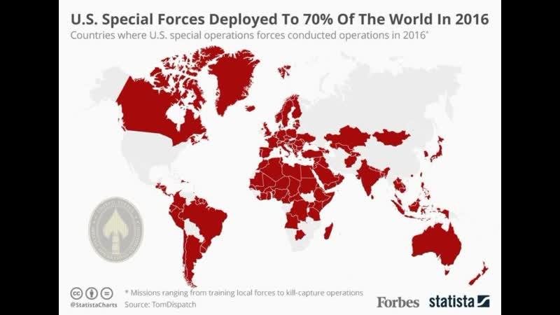 Военное присутствие США в мире - US Military Presence Worldwide