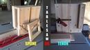 목공 Woodworking 테이블쏘 장부지그 액자지그 Spline Tenon Dual Jig For Table Saw