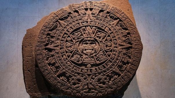 Камень Солнца, также ошибочно называемый ацтекским календарём,  монолитный базальтовый диск с символическим изображением ацтекской космогонии и солнечного культа