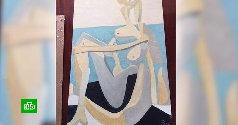 Купленная на гаражной распродаже картина оказалась подлинником Пикассо